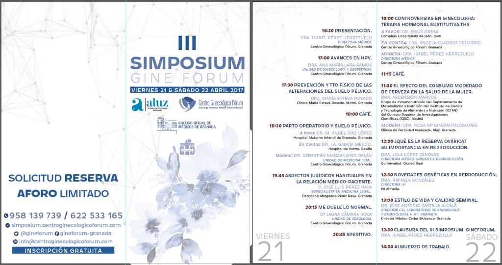 Programa III Simposium